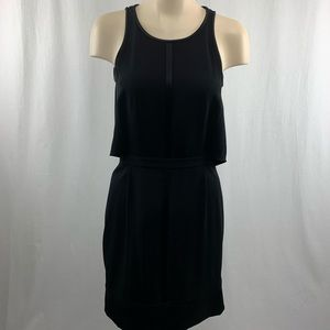 Club Monaco Black Sleeves Dress with Open Back 2